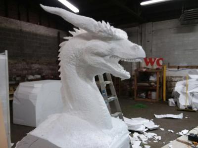 Back of the Dragon dragon