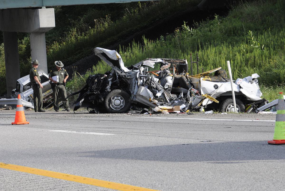 I-77 crash turnpike employees killed