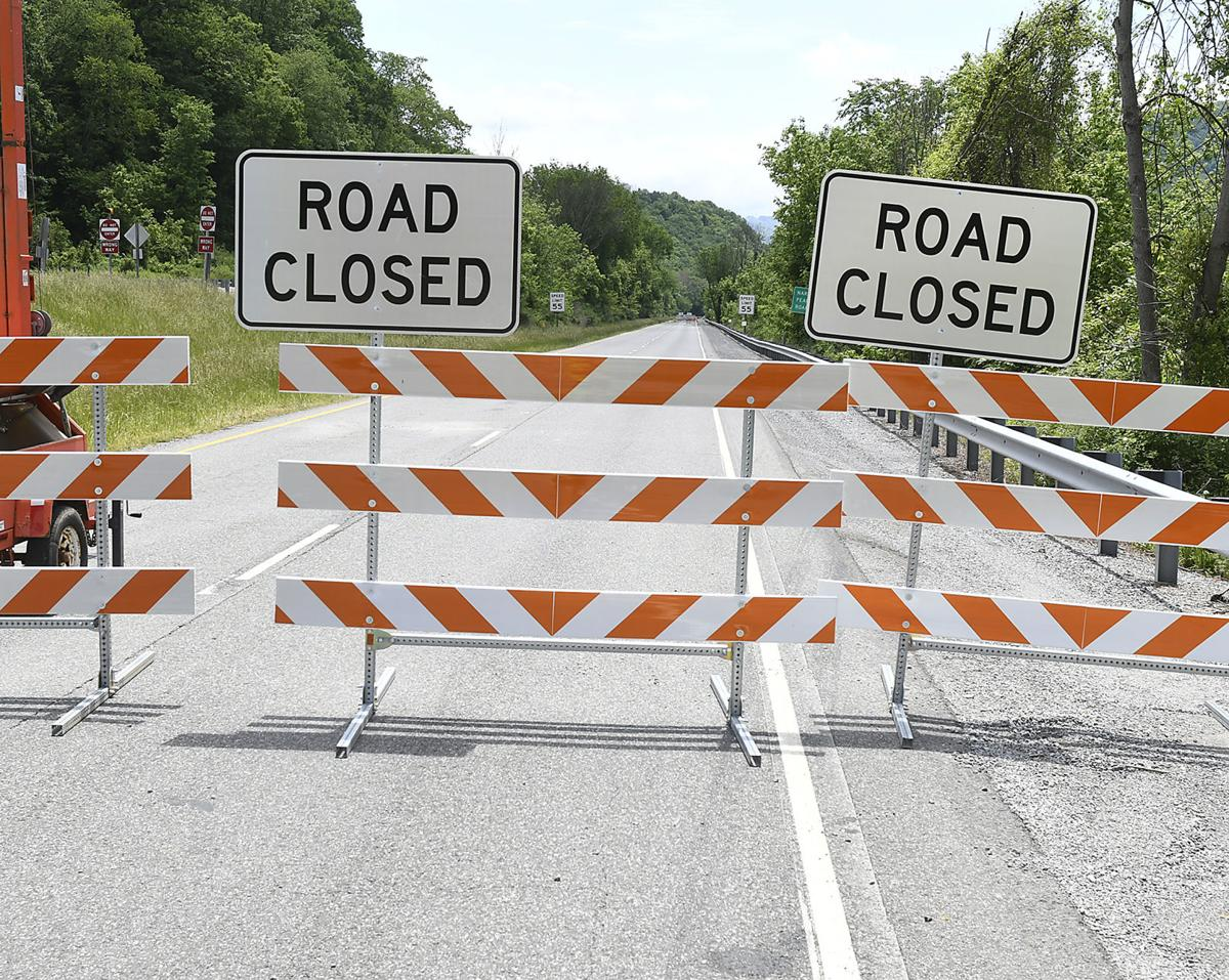 460 Road closed