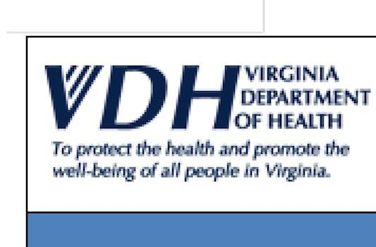 Virginia Department of Health ...