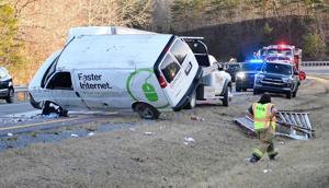 Man injured in Thursday rollover crash near Princeton passes away