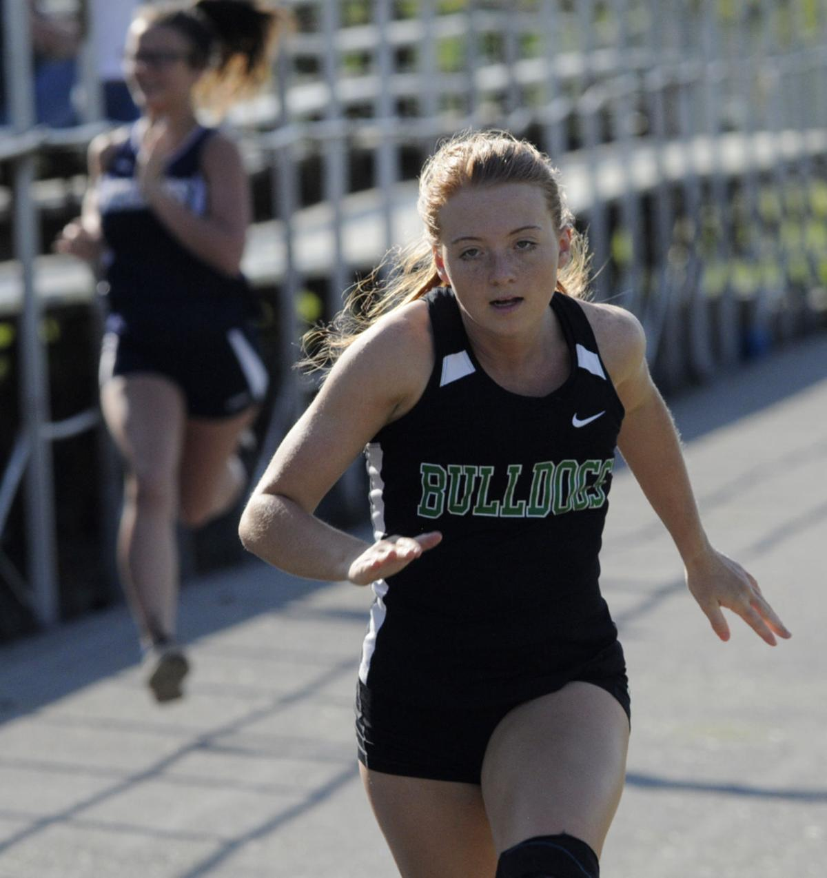 Putting the spurs to it: Tazewell girls sprinter only
