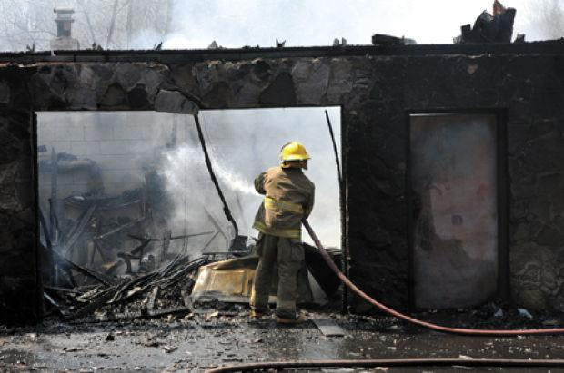 Fire in Montcalm destroys detached garage, vintage Cadillac | Local