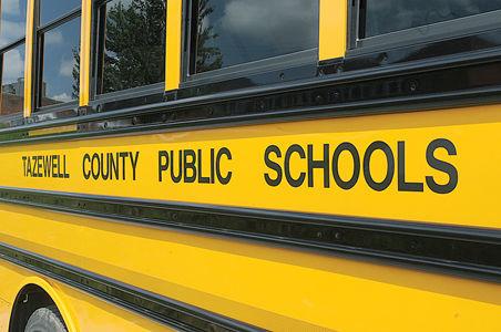 Tazewell County school bus