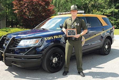 Prestigious Achievement Trooper Murray Receives High