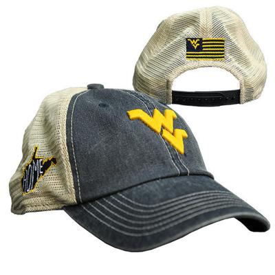 e3bb9f3faeedb Riffe s WVU cap design yielding online votes