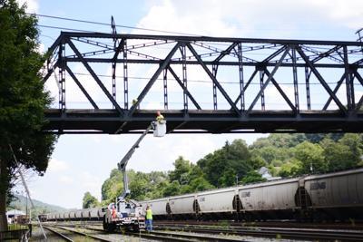 Grant Street Bridge inspection