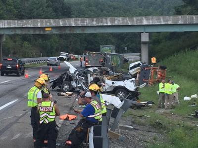 Troopers investigating Interstate 77 truck crash | News
