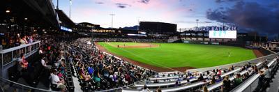 Minor league splendor...