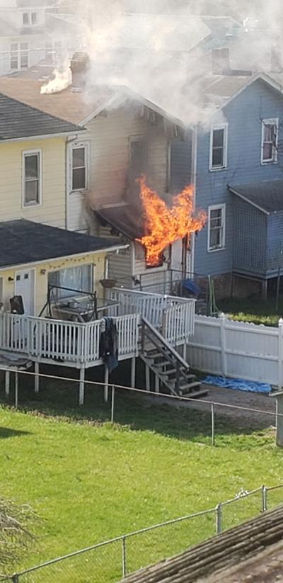 Larch Street Fire
