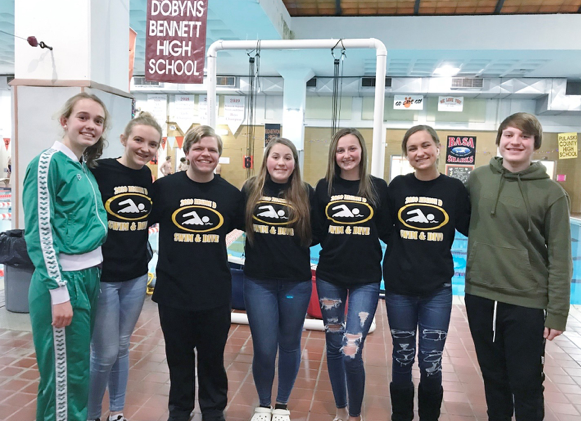Tazewell swimmers...