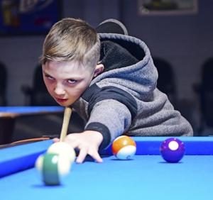 Pool shark prodigy: Princeton 10-year-old already angling to go pro