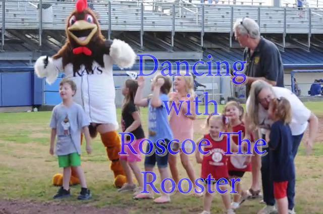 Video: Princeton Rays Mascot dances with children between