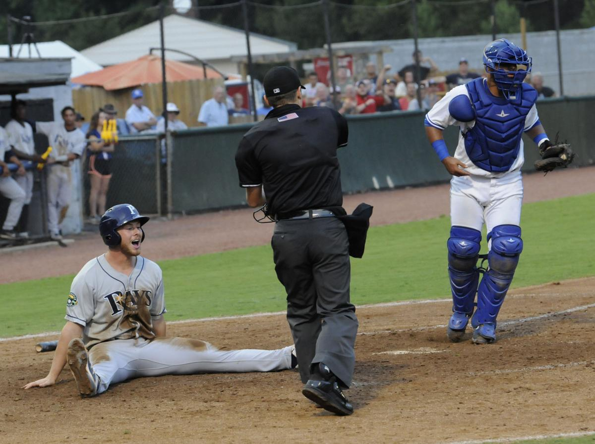 Eric Aug 9 Bluefield Vs Princeton Out at the Plate .jpg