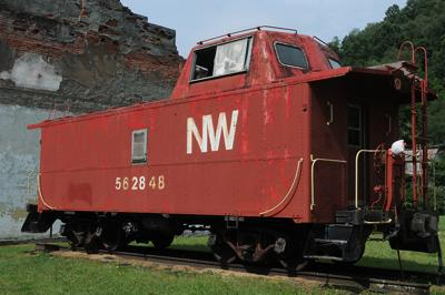 Caboose, other assets up for auction from disincorporated