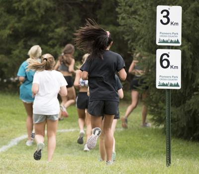 New cross country route at Pioneers Park