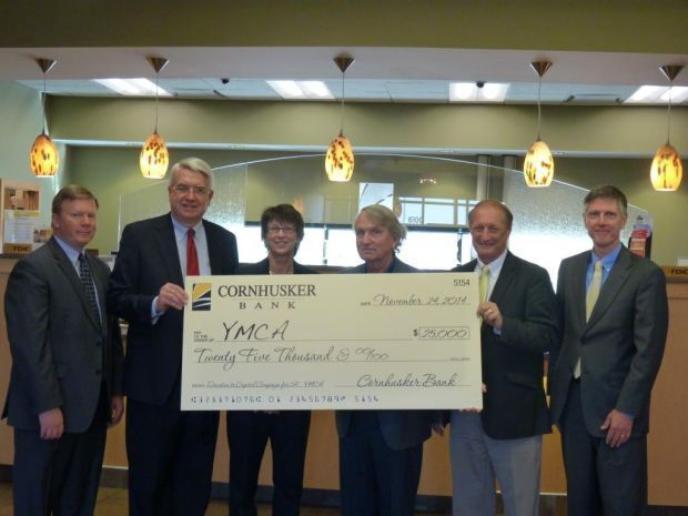 YMCA Project Receives $25,000 From Cornhusker Bank