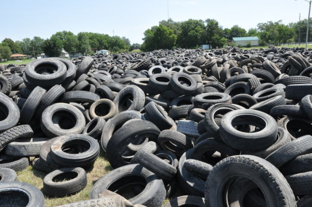 tire amnesty collects 300 tons of used tires local news. Black Bedroom Furniture Sets. Home Design Ideas
