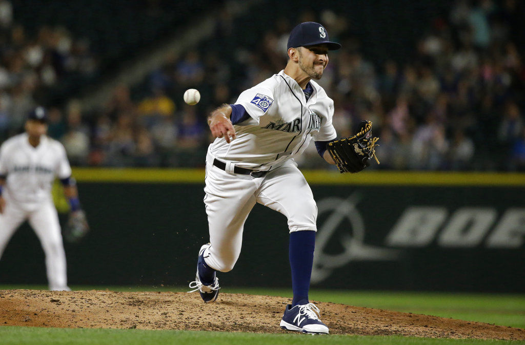 Rays acquire Cishek from Mariners