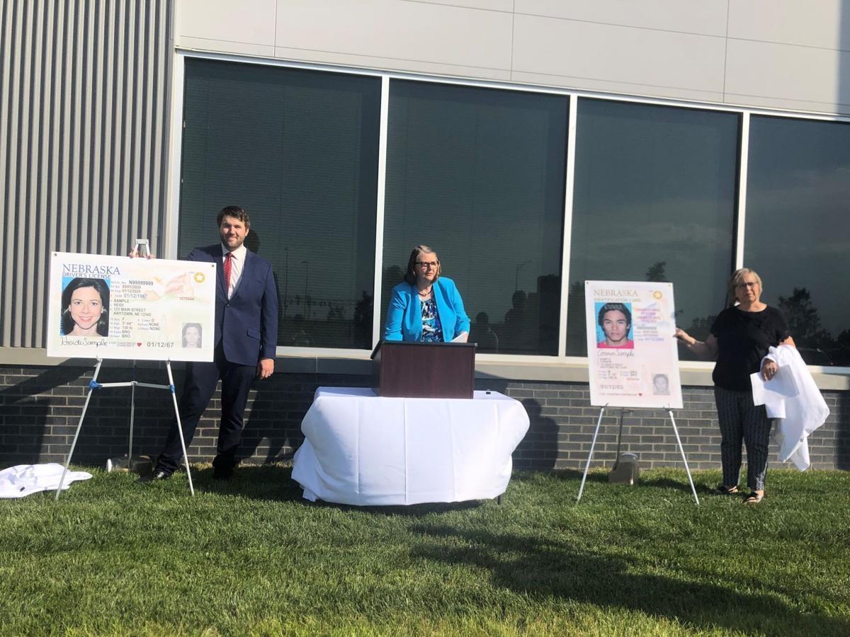 Nebraska DMV unveils new driver's license design