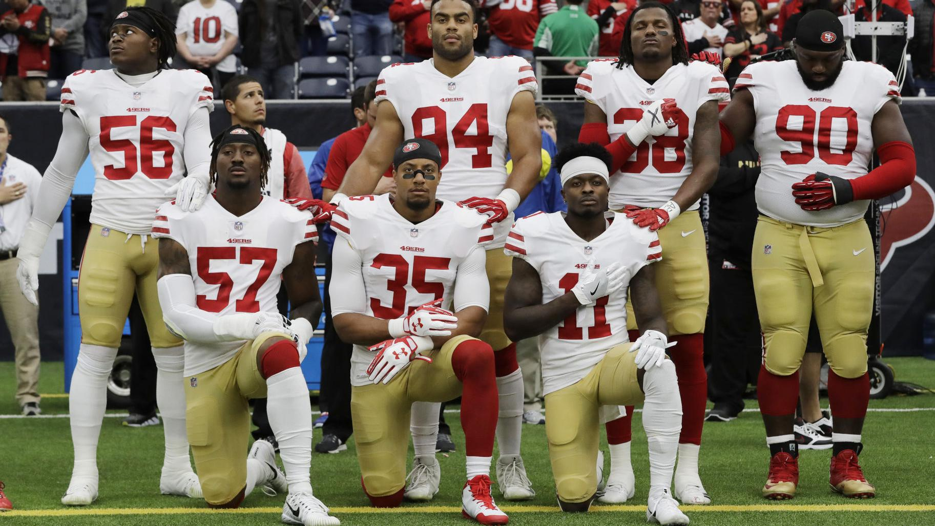 NFL owners adopt new policy to address national anthem protests