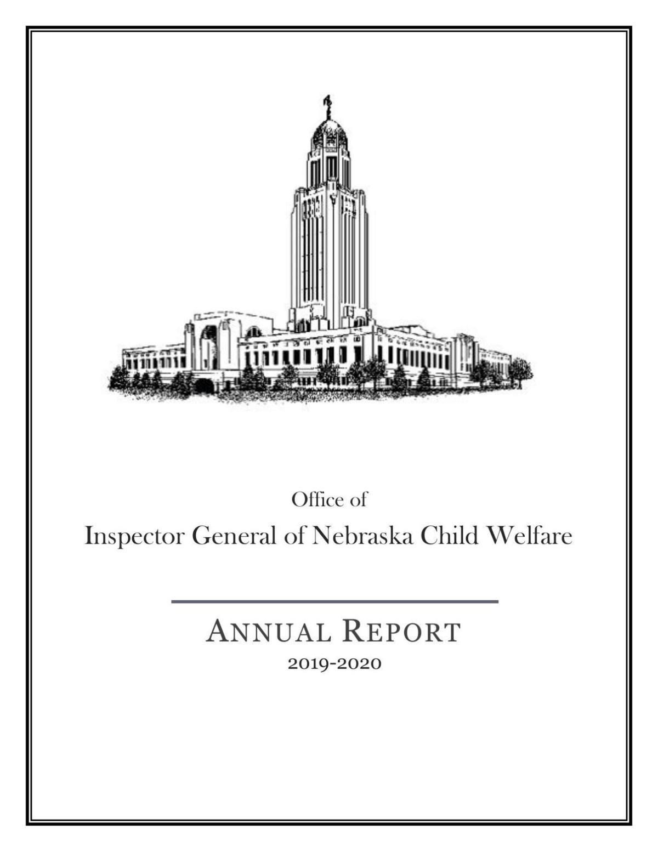 Nebraska Child Welfare Report, 2019-20