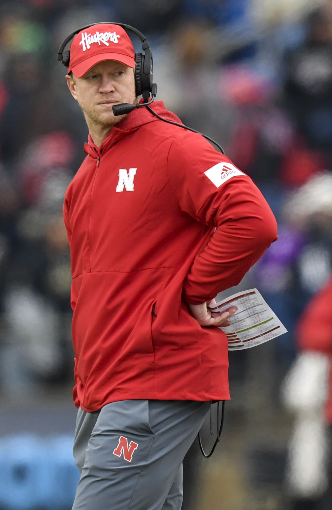 Nebraska vs. Purdue, 11.02.2019