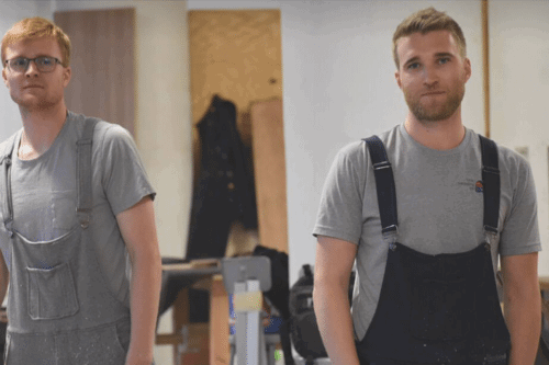 'Swoveralls' Are The Sweatpants And Overalls Combo For Your Comfiest Moments
