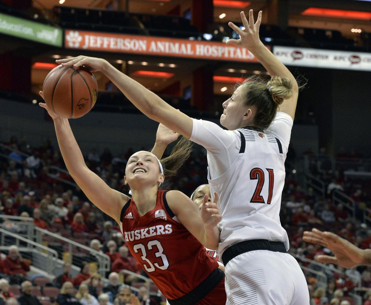 Nebraska Louisville Basketball