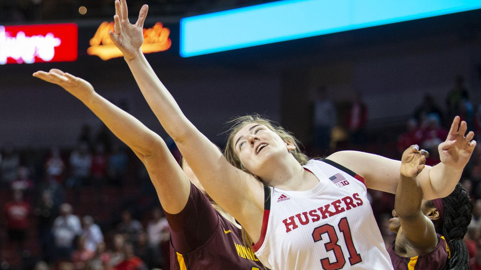 Nebraska women rally to beat No. 23 Minnesota to end streak of losses against ranked teams