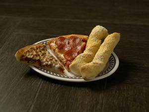 Valentino's Pizza and Bread Sticks