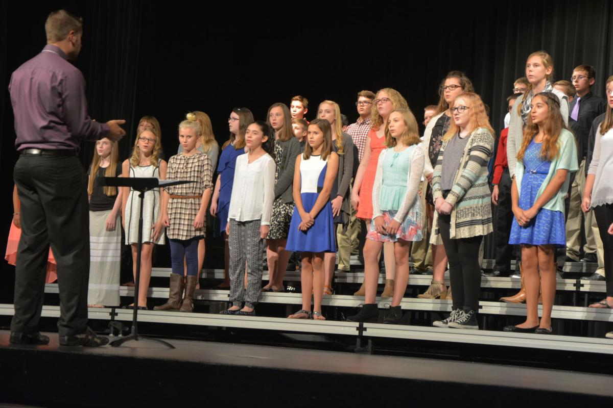 Image result for middle schoolers on stage pictures