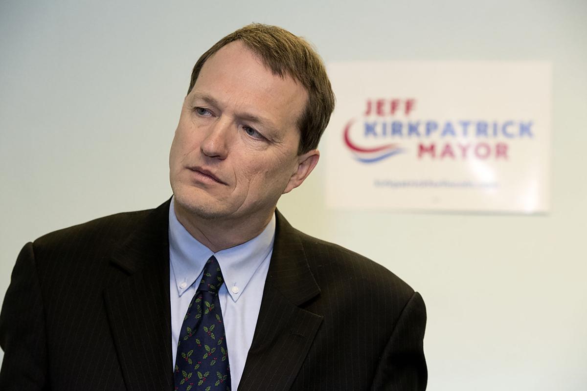 Mayoral candidate Jeff Kirkpatrick