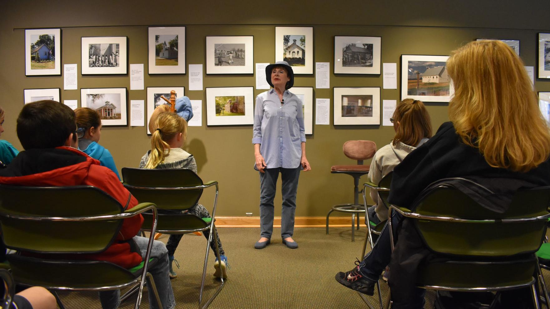 Storyteller event draws imagination while educating