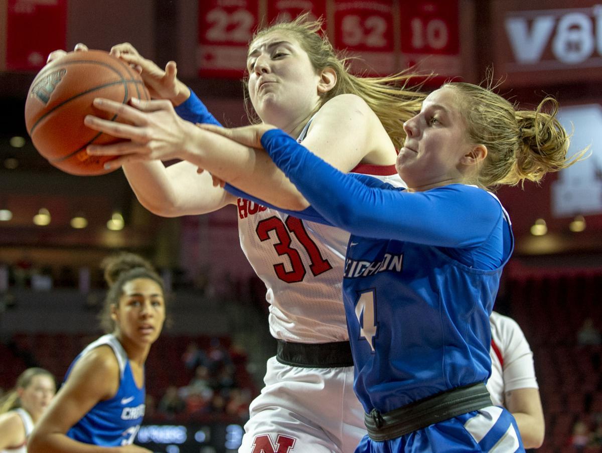 NU vs. Creighton women's basketball, 11.24