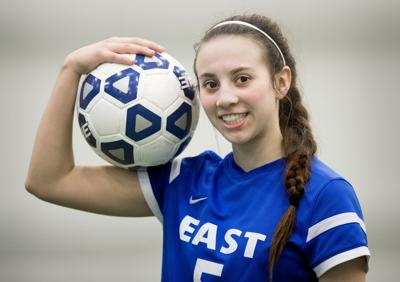 Lincoln East Girls Soccer's Haley Peterson, 3.13