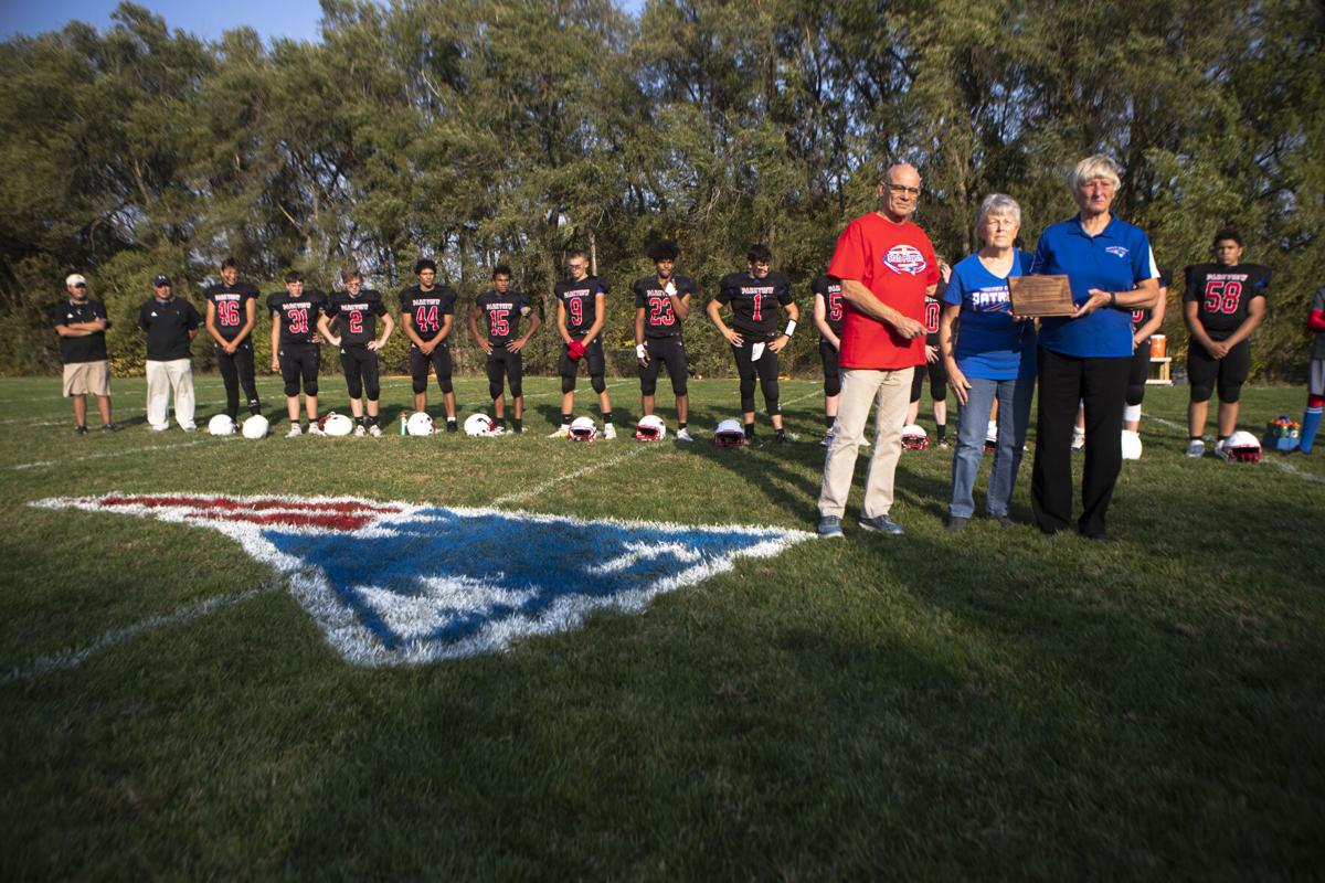 Parkview Christian football field dedication, 10.9