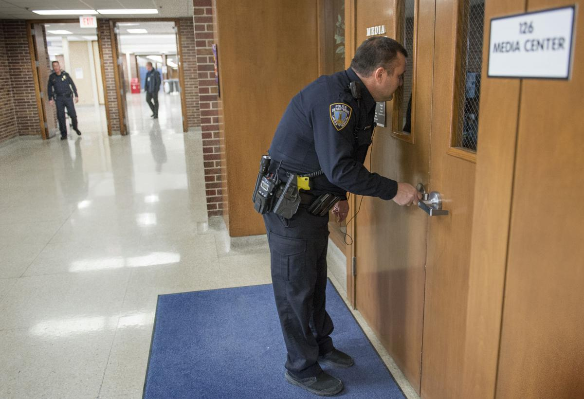 Lincoln East security drill