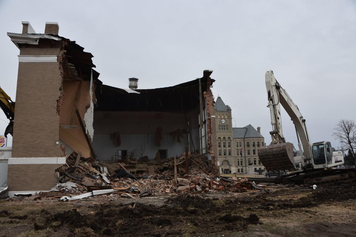 Former Masonic Lodge being demolished | Local News