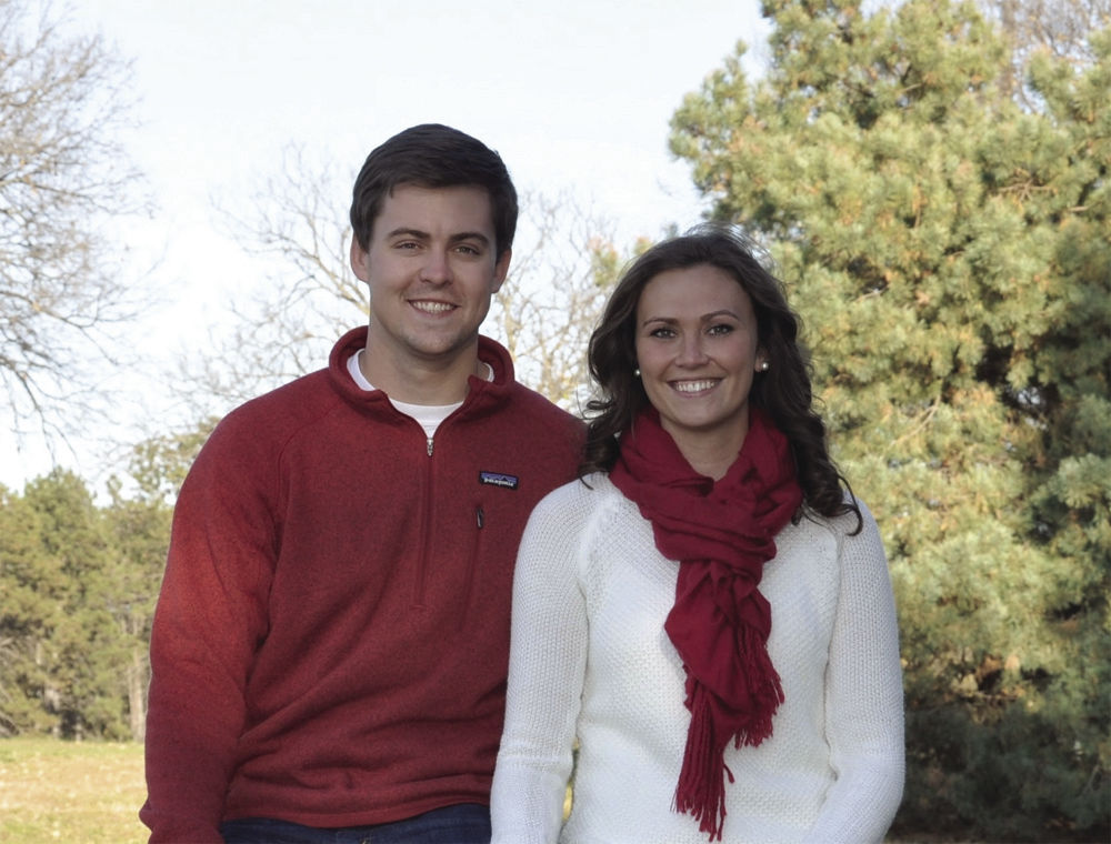 Landon Nelson and Ashley Weyers