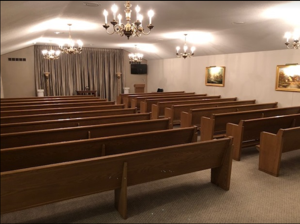 Fox Funeral Home Chapel from Back
