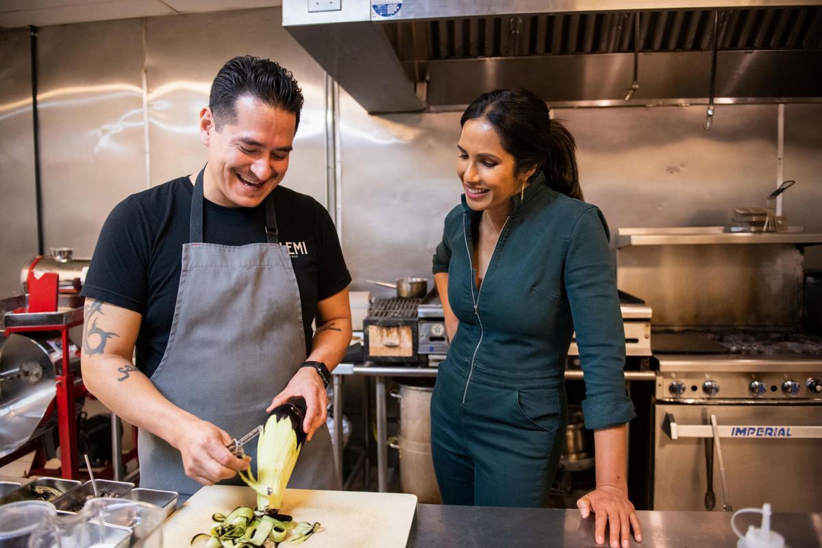 Padma Lakshmi says this ingredient makes American food great