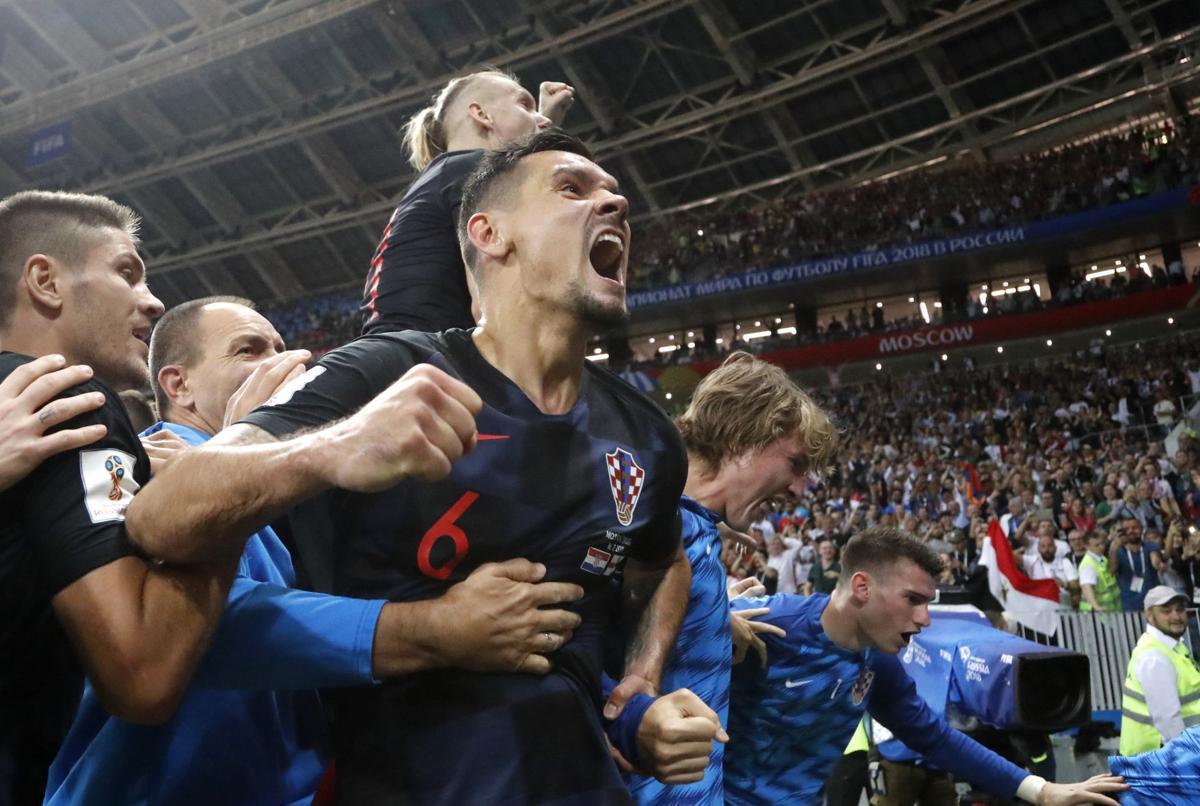 Russia Soccer WCup Croatia England