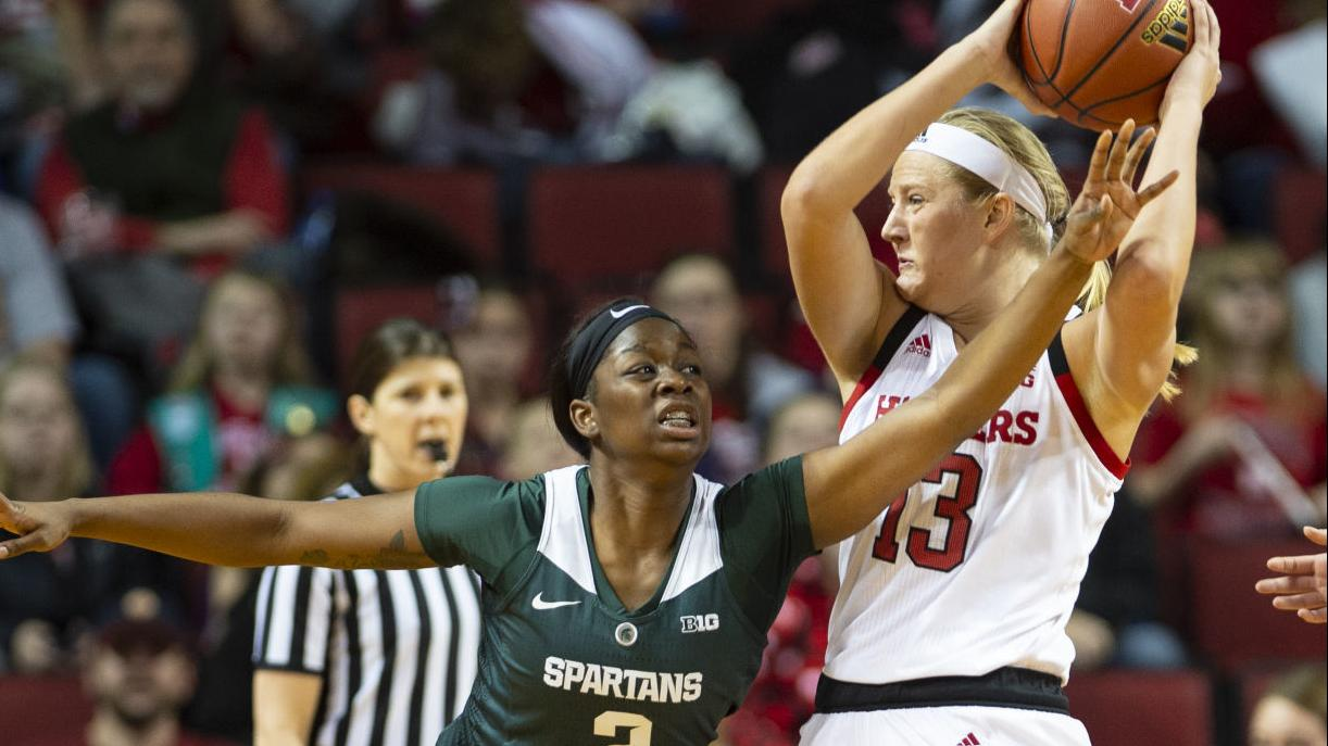 Photos: Husker women take down No. 24 Michigan State at home on Sunday