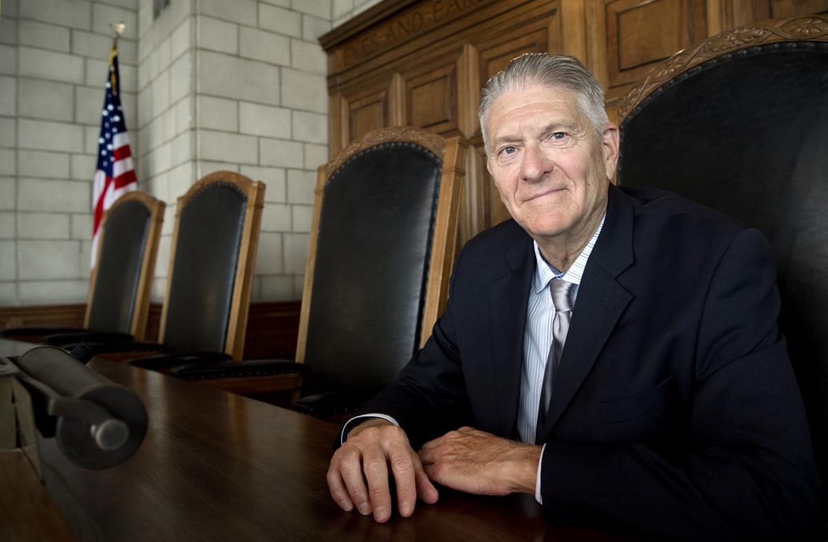 Nebraska Supreme Court Chief Justice Mike Heavican, 8.28