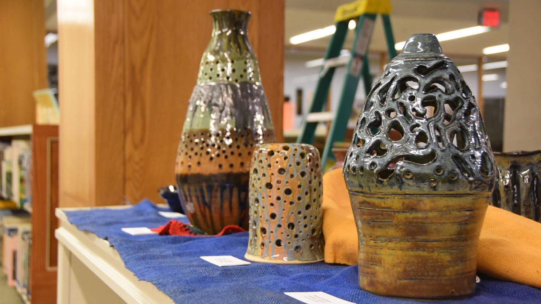 Library hosts SCC art exhibit
