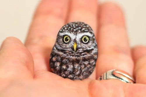 This Artist Makes Animals Out Of The Stones She Finds