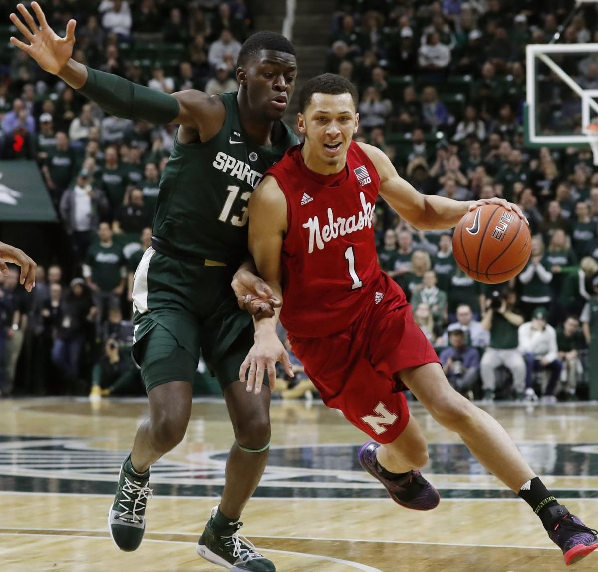 Nebraska Michigan St Basketball