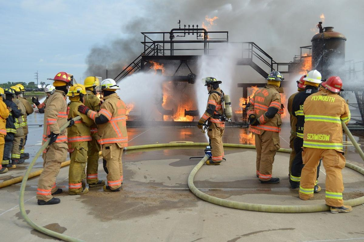 Industrial fire training
