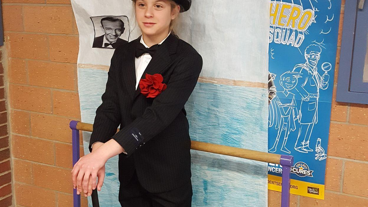 Fourth graders pay homage to famous Nebraskans